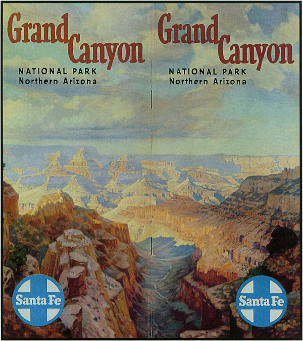 1953 Grand Canyon pamphlet