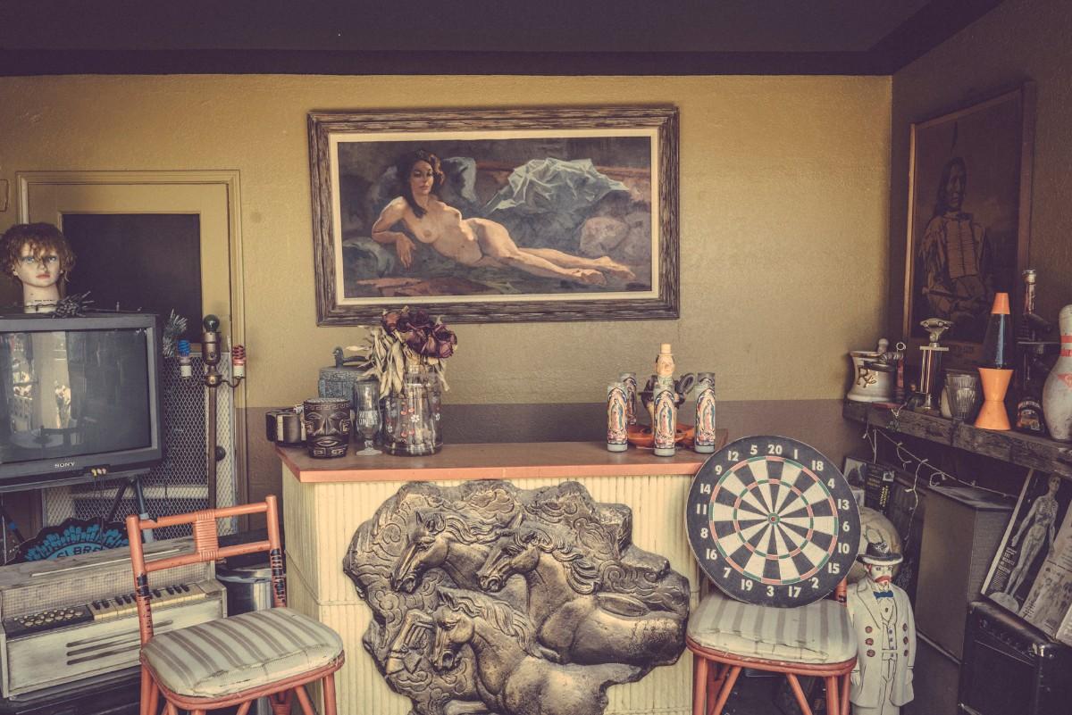 Rancho de la Luna's outdoor bar | Kim Stringfellow