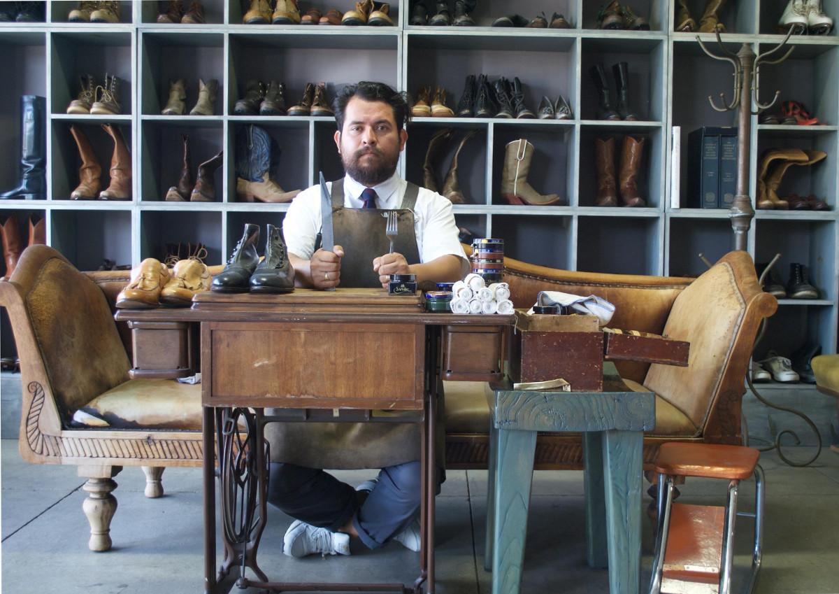 Raul Ojeda, shoe designer