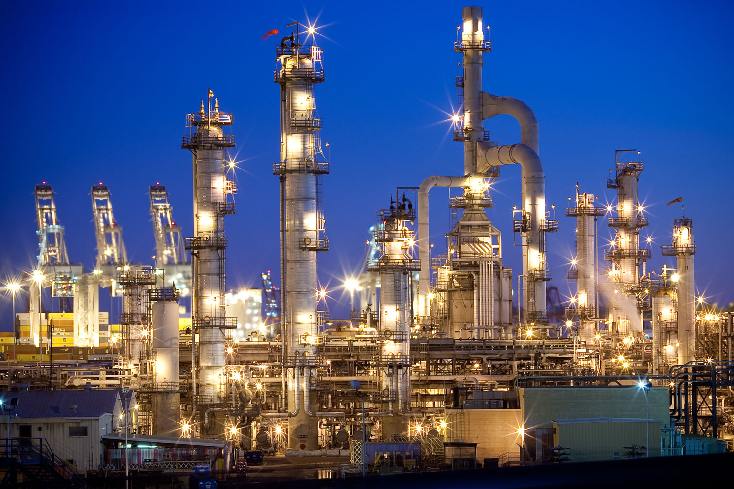 Tesoro refinery in Carson