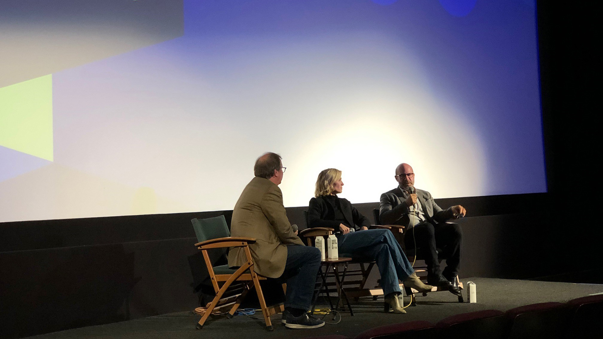 Writer/director Scott Z. Burns shares the making of the film with KCET Cinema Series members