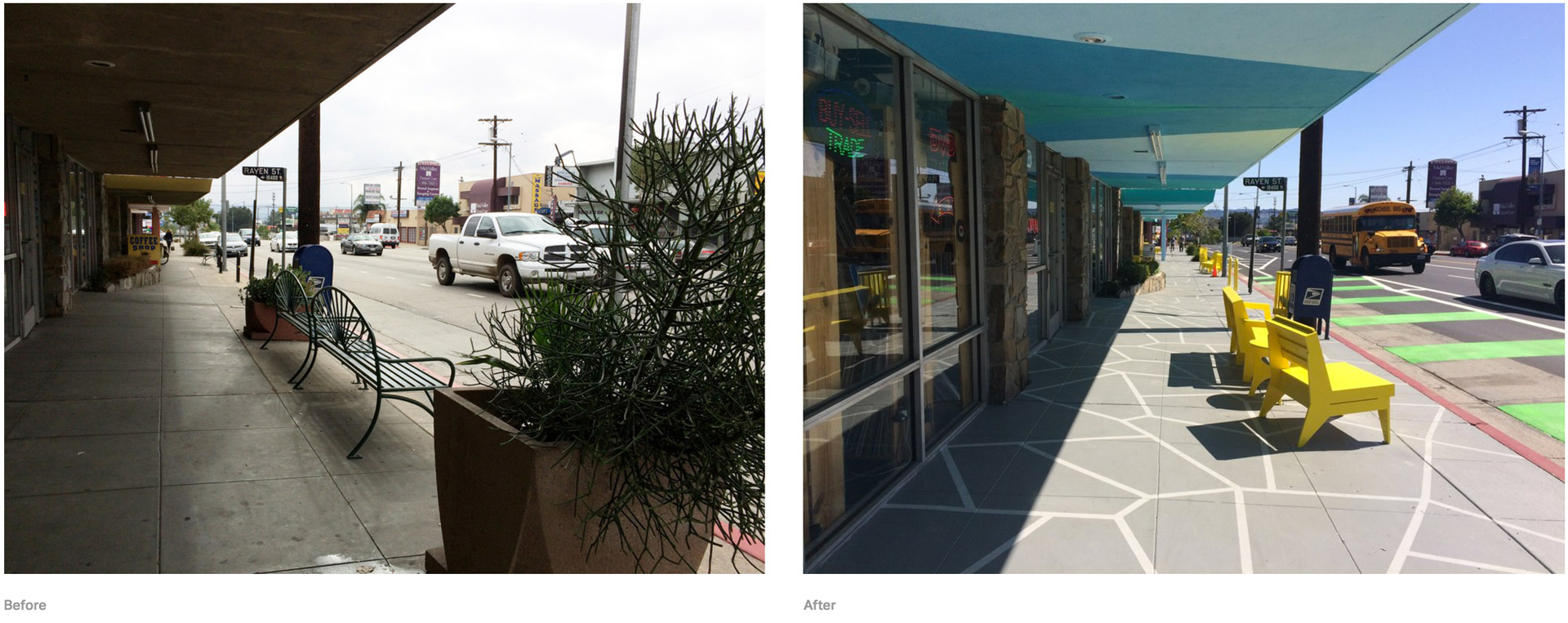 Reseda Before and After
