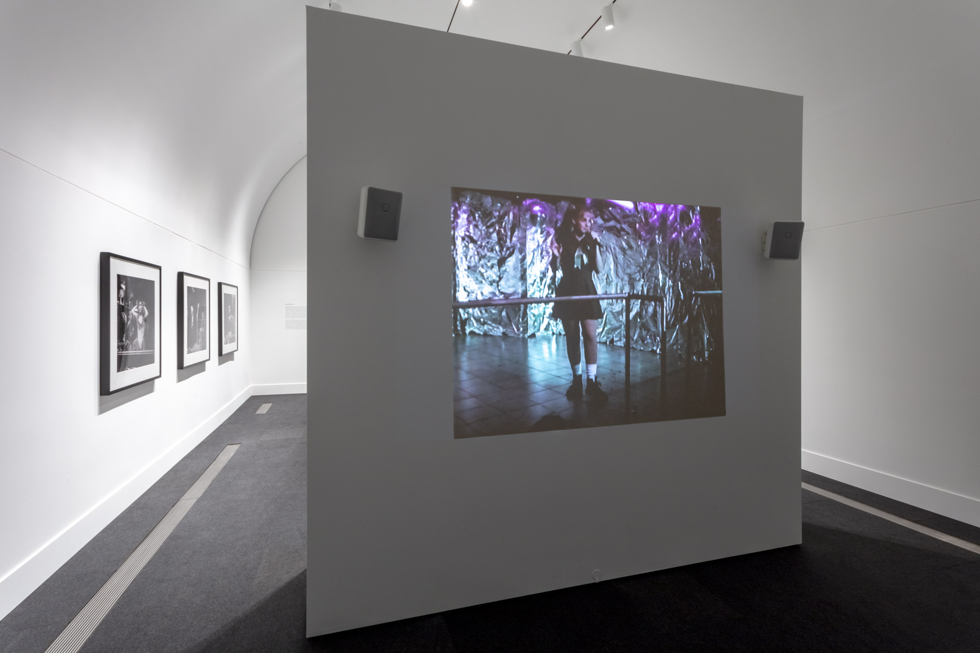 """An installation view of Reynaldo Rivera's work at """"Made in L.A. 2020: a version."""" at Hammer Museum, Los Angeles. 