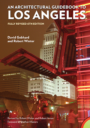 "Cover photo of ""An Architectural Guidebook to Los Angeles"" 