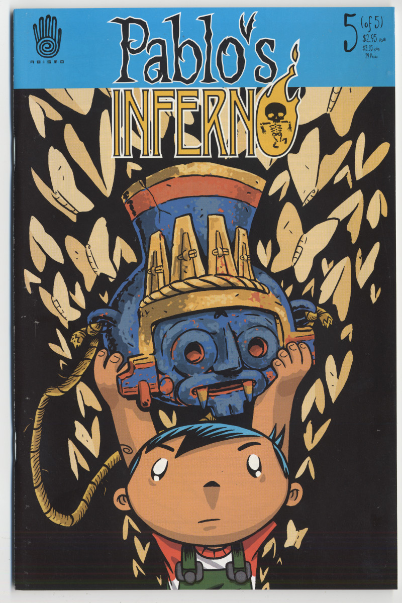 "Rhode Montijo, ""Pablo's Inferno #5,"" 2001."