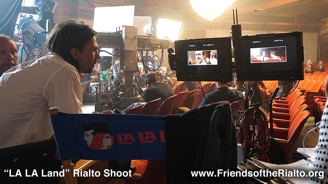 Behind the scenes of filming La La Land at the Rialto Theatre | David Wasco Friends of the Rialto