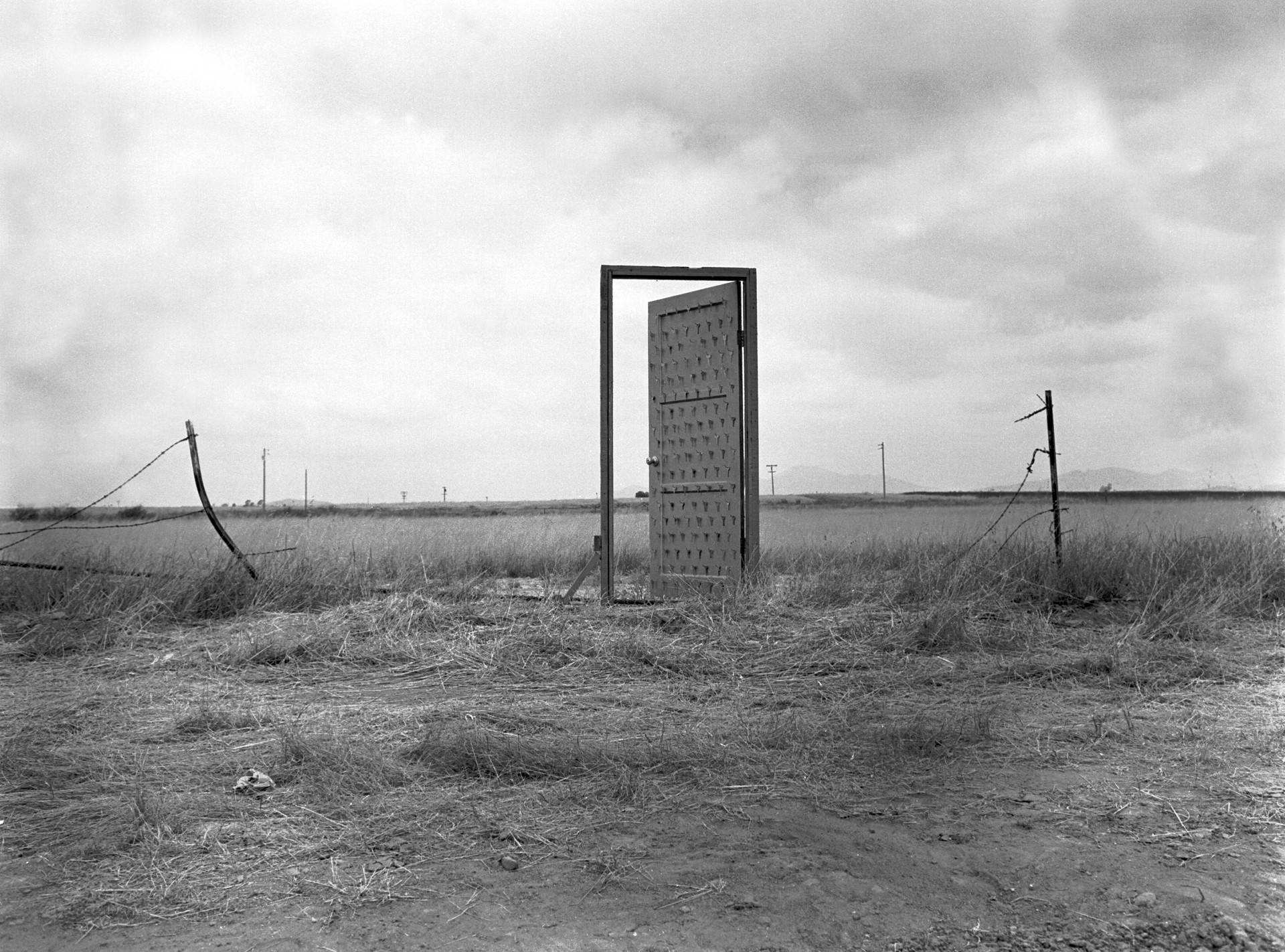 "Richard A. Lou, ""Border Door."" 