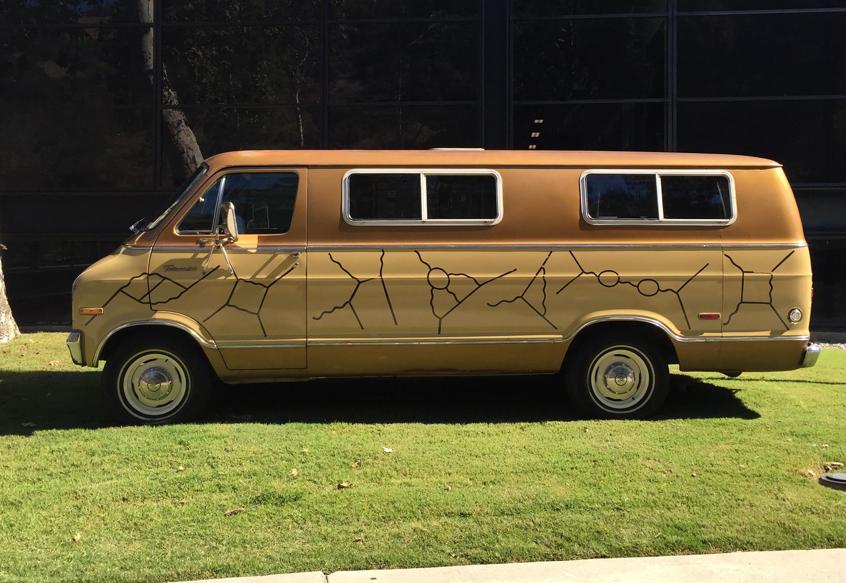 """Richard Feynman, """"1975 Dodge Extended Van,""""1975"""