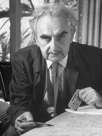 Richard Joseph Neutra (April 8, 1892 – April 16, 1970), modernist architect. Photograph by Ed Clark.