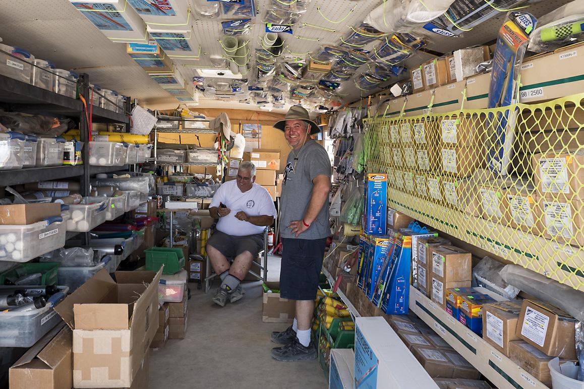Estes rocket vendors at ROCstock, Lucerne Valley, CA (2015). | Kim Stringfellow.