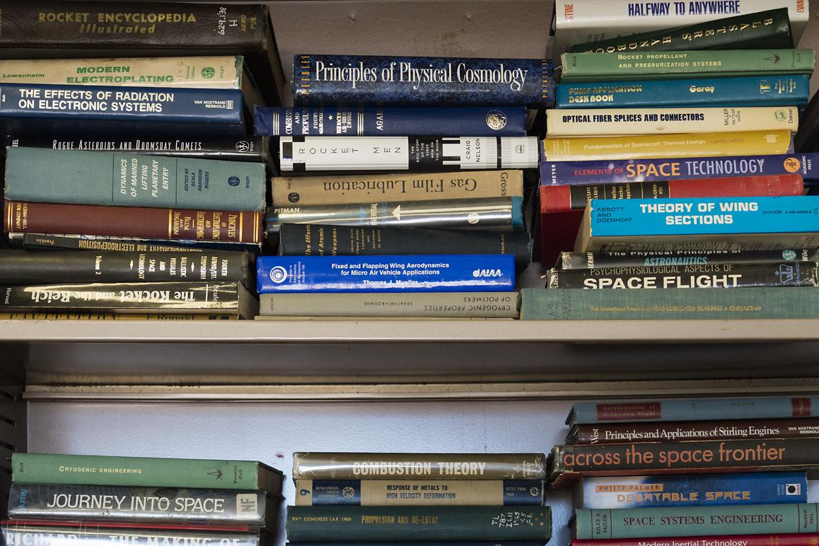 The FAR library, Cantil, CA (2015). | Kim Stringfellow