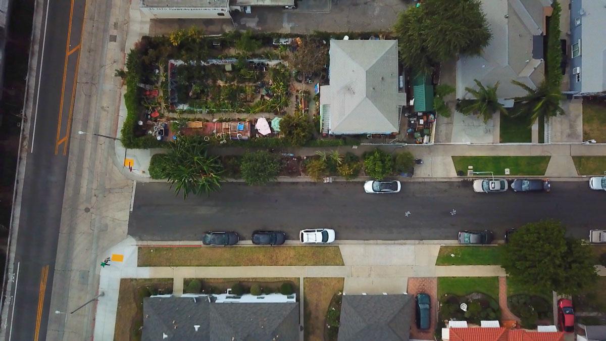 "Ron Finley's garden | Still from ""Broken Bread"" Access"