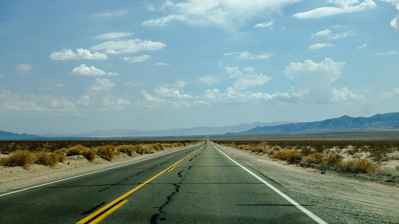Route 62 east of Twentynine Palms