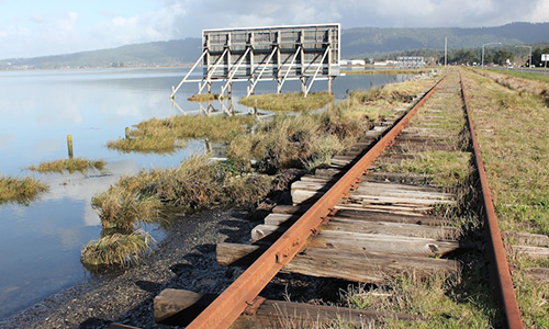 railroad humboldt bay
