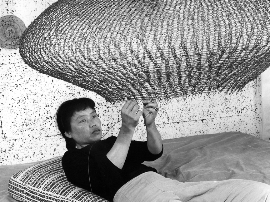"Ruth Asawa is highlighted in the episode ""Masters of Modern Design: The Art of the Japanese American Experience""."
