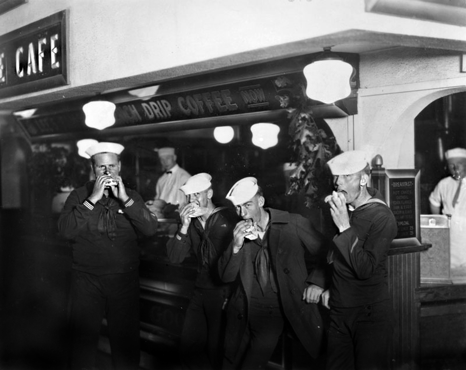 Shore Leave at the Pike, 1937