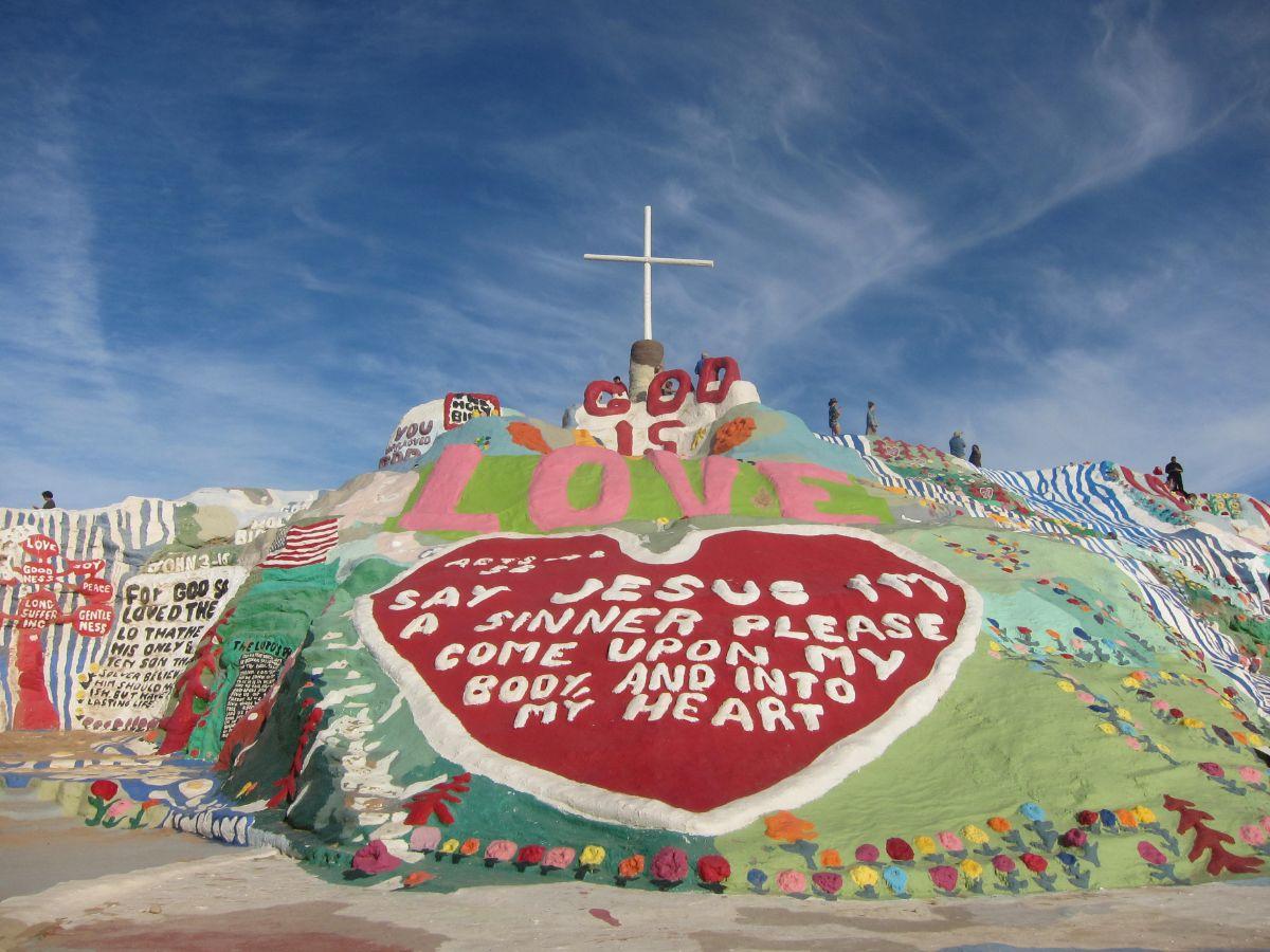Salvation Mountain | Jean Trinh Desert X AB s9