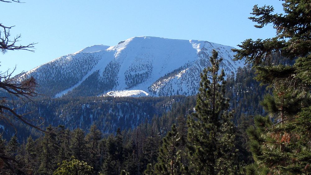 San Gorgonio Peak in snow | Photo: Mitch Barrie, some rights reserved