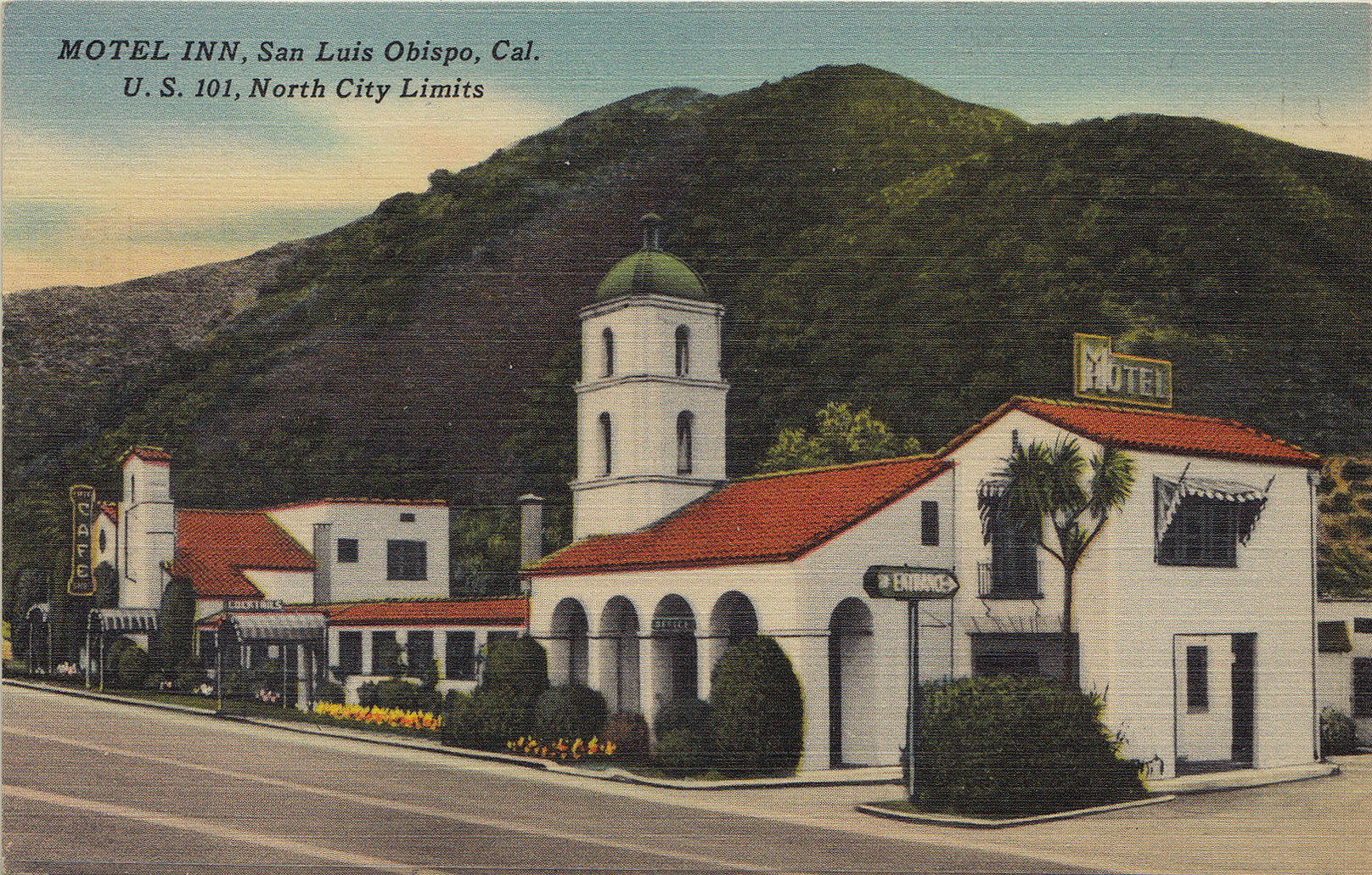 San Luis Obispo's Motel Inn, which opened in 1925, is considered the world's first motel.