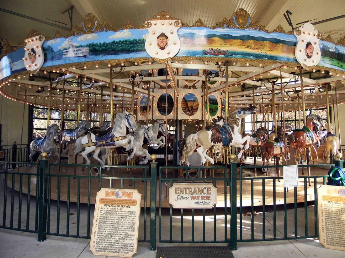 Santa Barbara's Chase Palm Park Carousel (1)