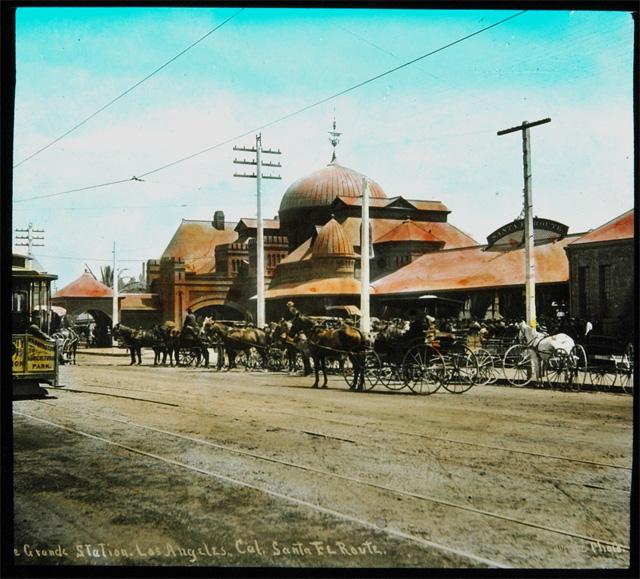 The Santa Fe's La Grande rail depot