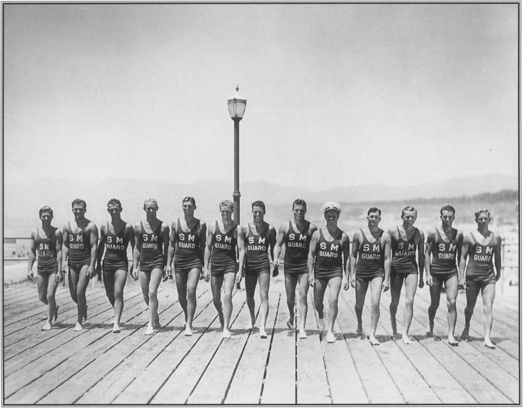 George Freeth left a legacy of innovation for lifeguarding in southern California. Only in the 1920s and 1930s did munici­ palities provide payment  for the services that Freeth and  his volunteers  had  pioneered.