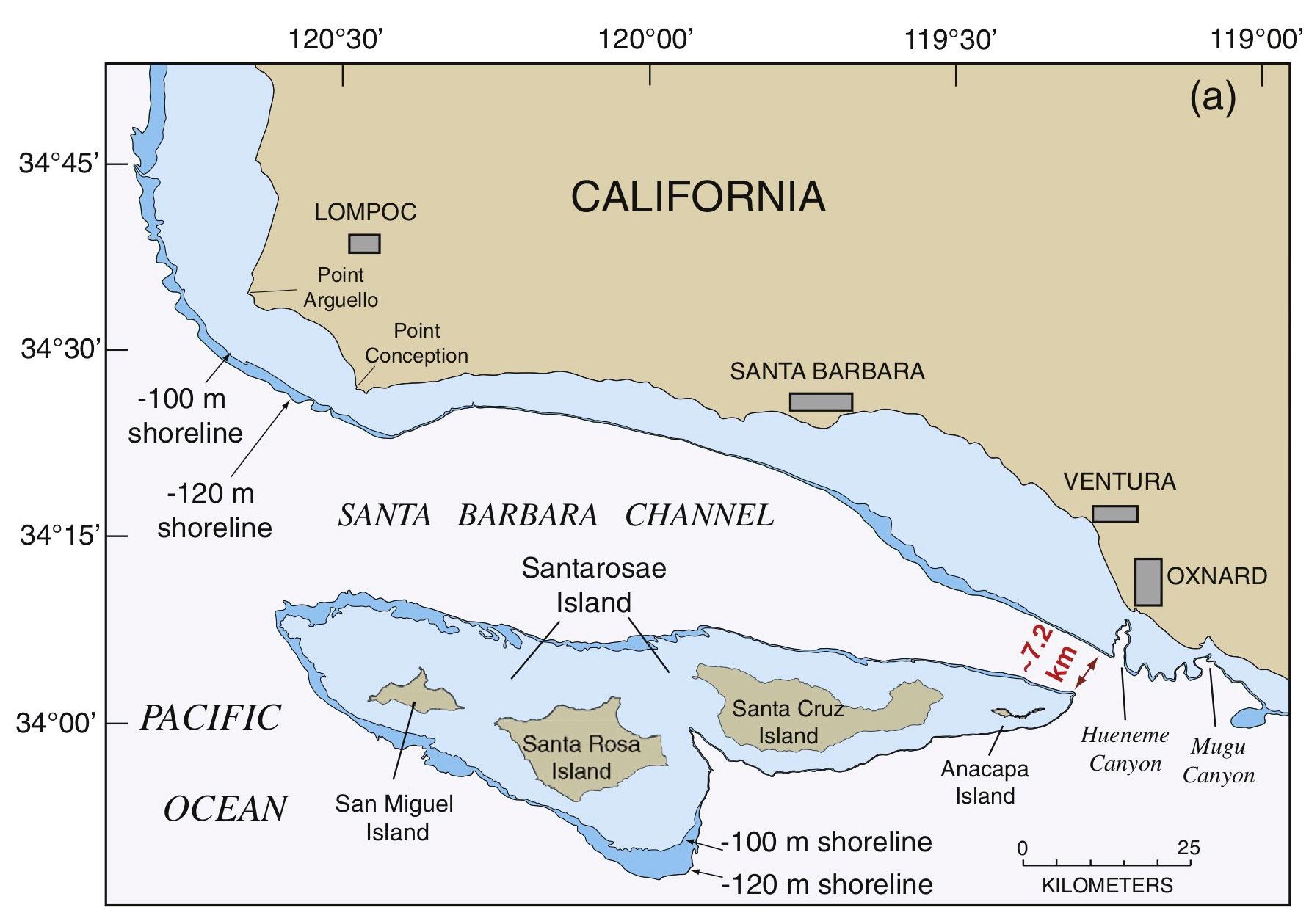 santa rosae map