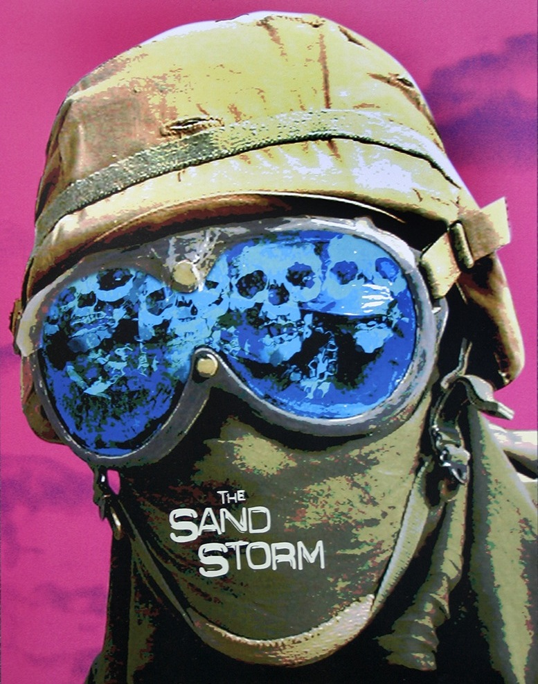"Sean Huze, ""The Sandstorm"" promotional poster"
