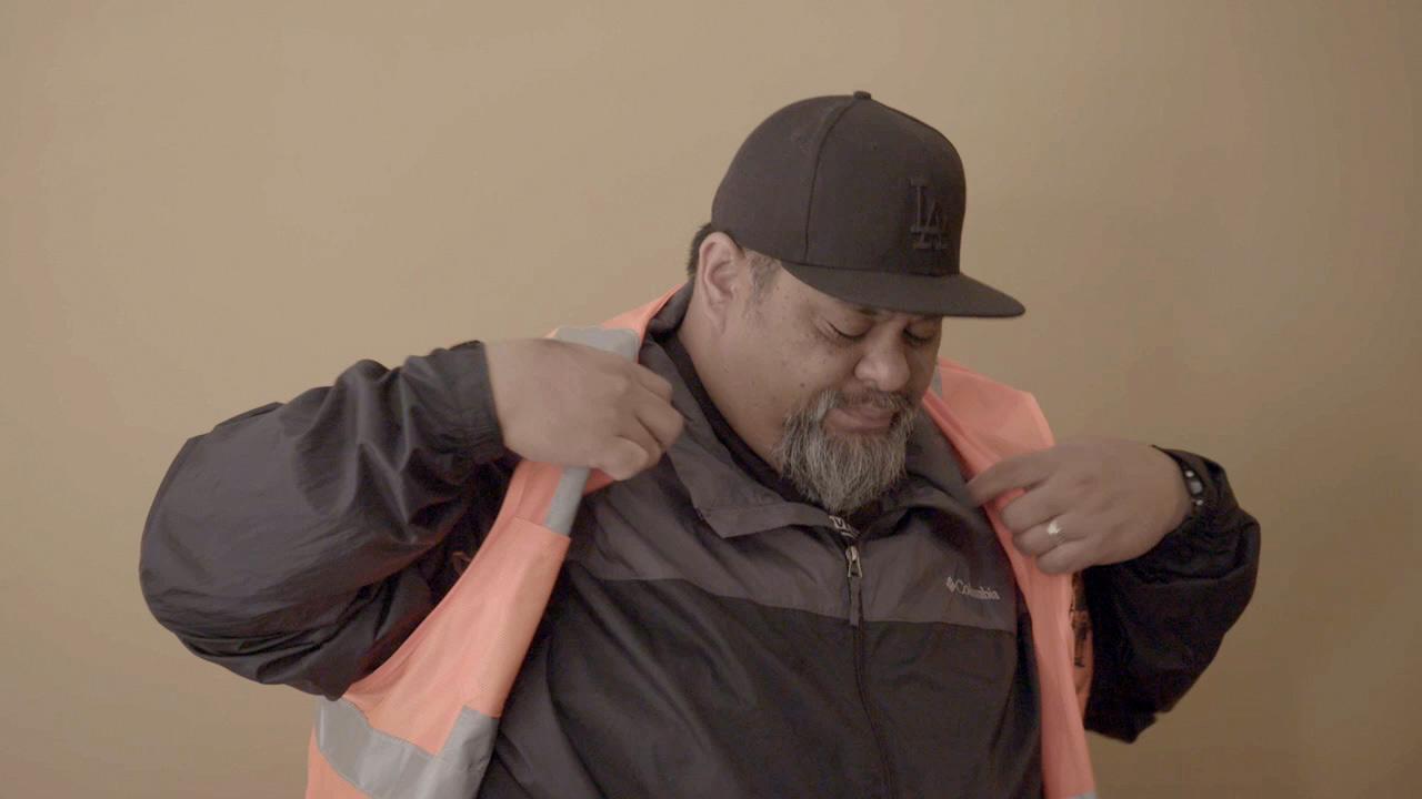 Long Beach truck driver Daniel Aneseko Uaina