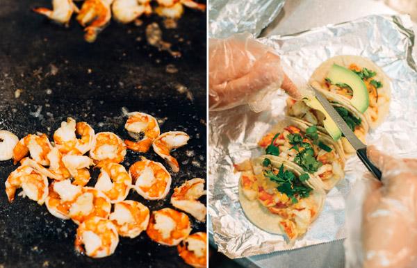 Shrimp tacos by Houston Cofield