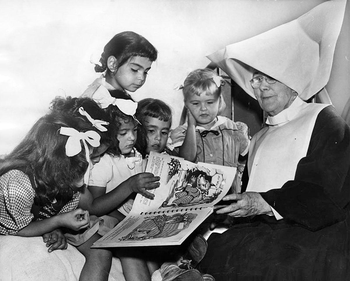 Sister Anastasia, 1950.