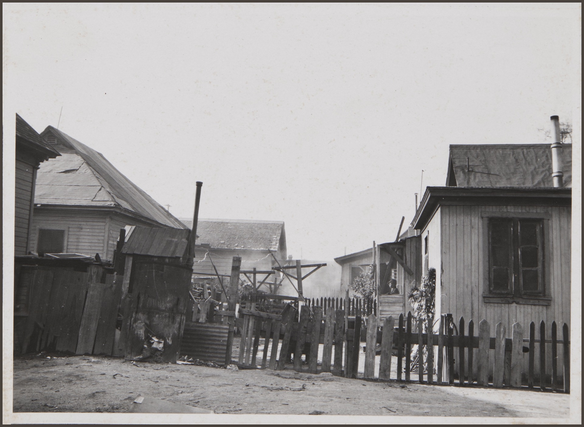 Slums on Hewitt Street. Los Angeles: 1932-33 by Anton Wagner, PC 17, California Historical Society.