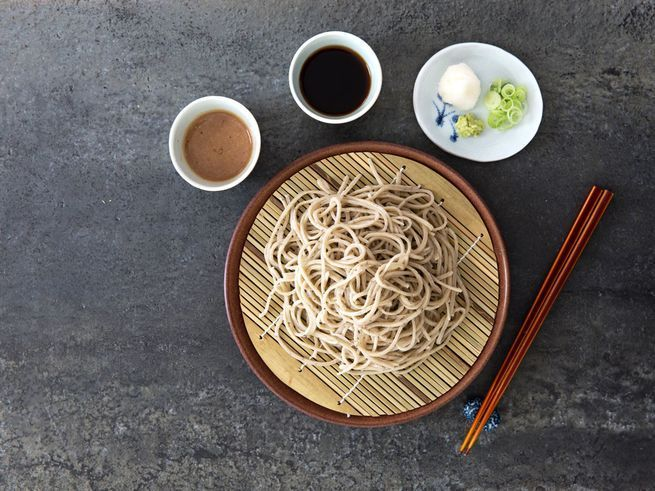 Soba noodles with two dipping sauces | Dylan + Jeni