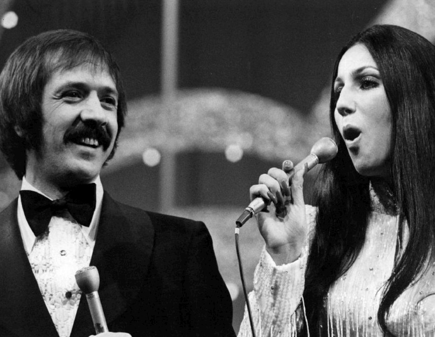 Photo of Sonny and Cher from the television special Entertainer of the Year from a 1973 press release. | Wikimedia Commons/CBS Television/PD-PRE1978