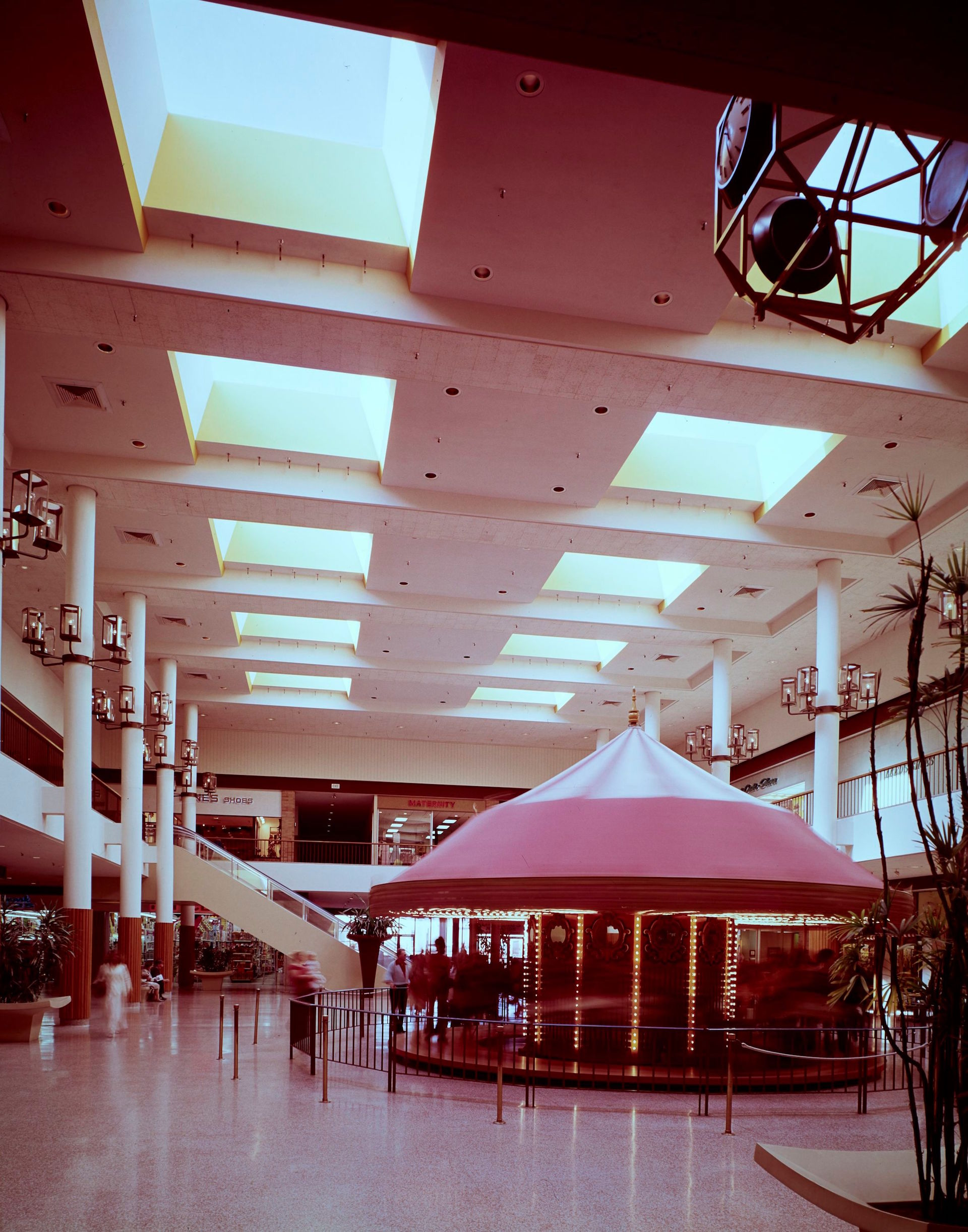 South Coast Plaza interior