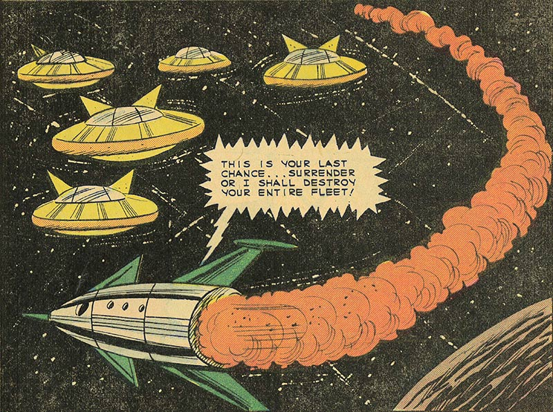 """Space Adventures Vol.3 No.56, """"Space Narcosis"""" 