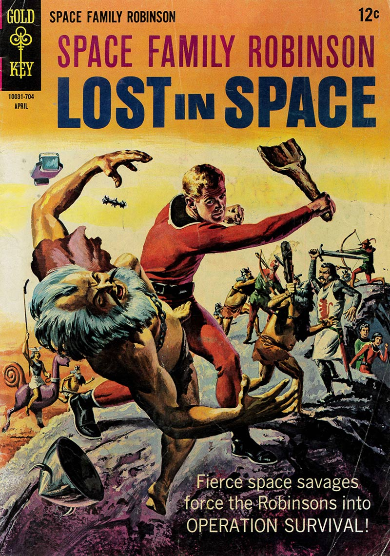 Space Family Robinson: Lost in Space No.12, April 1967 | Courtesy of Henry Cram