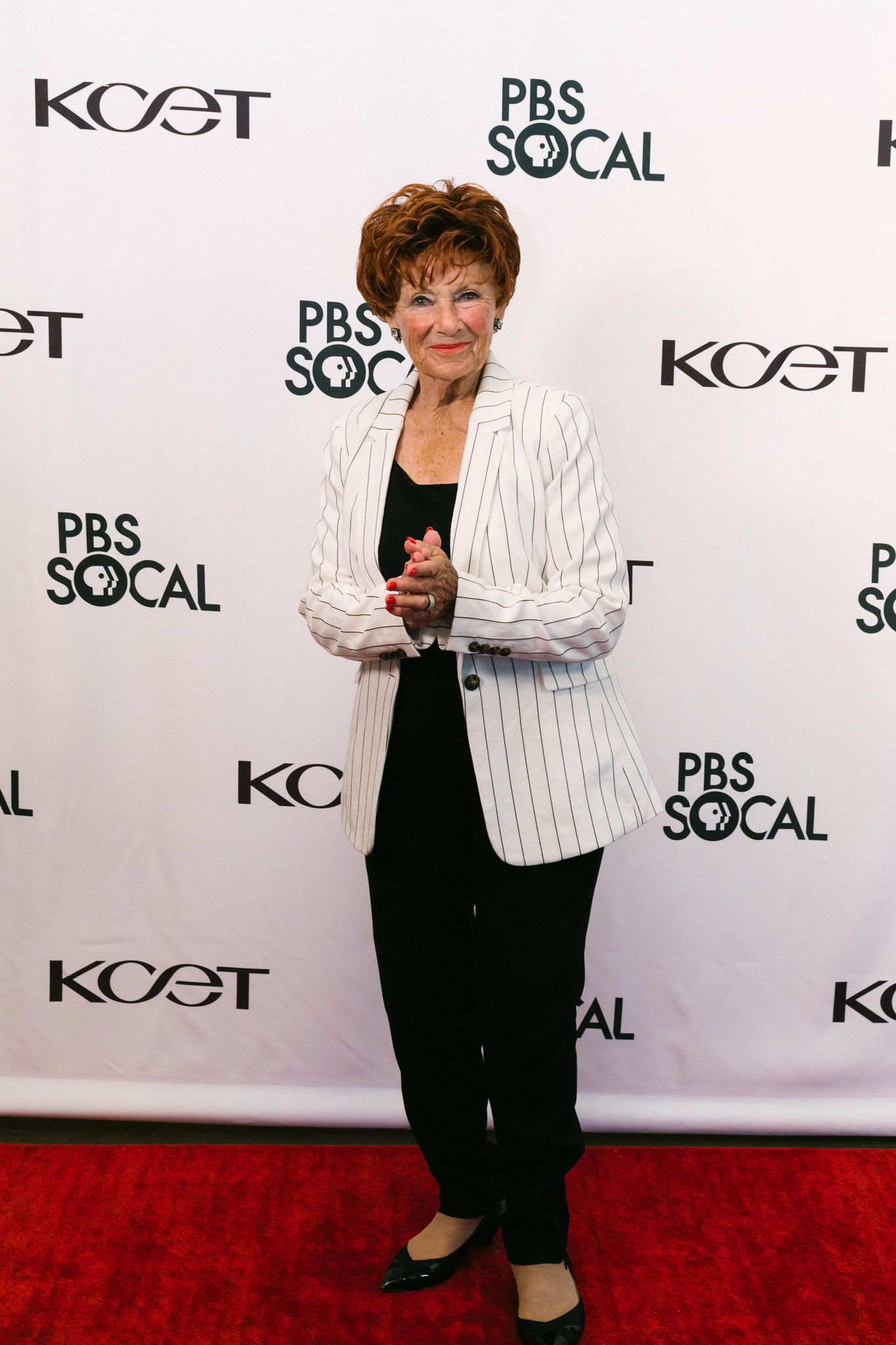 Actress Marion Ross (Happy Days) at the world premiere of BLUE SKY METROPOLIS