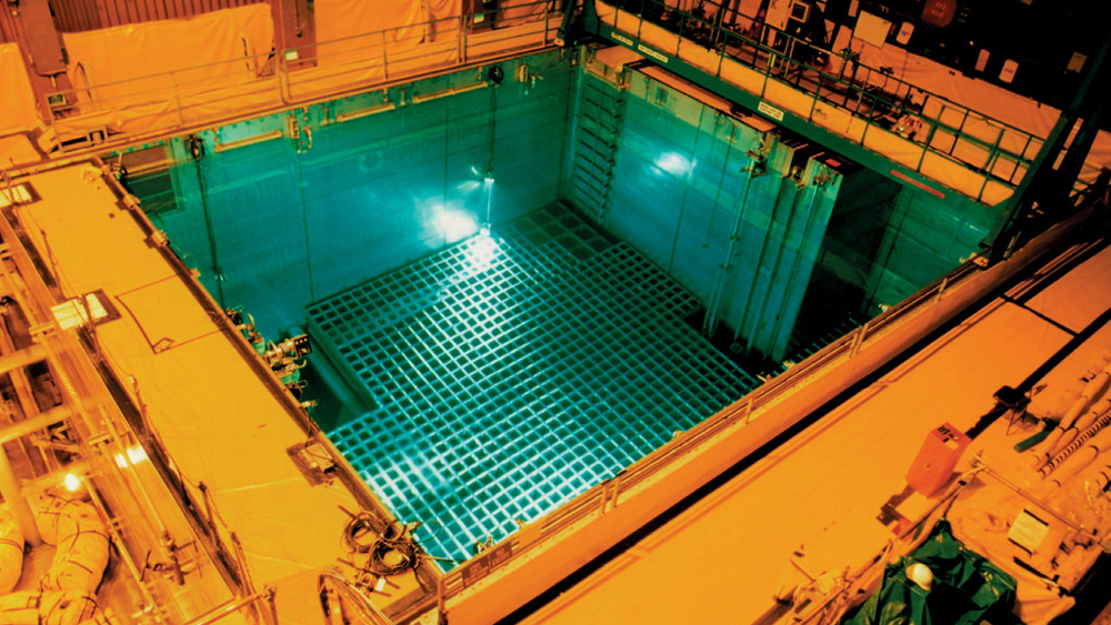 A storage pool for spent fuel at San Onofre | Photo: Nuclear Regulatory Commission