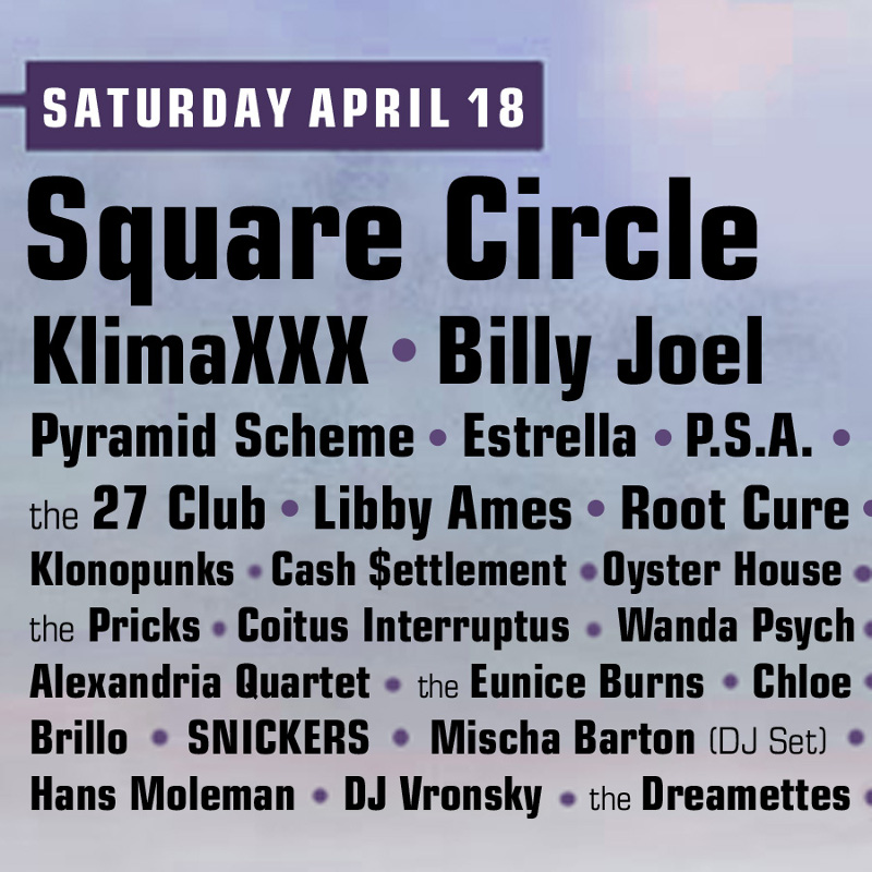 Square Circle band at Coachella