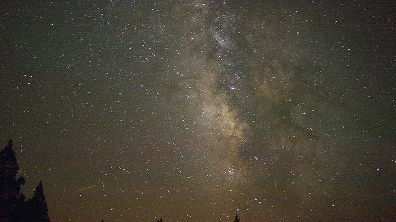 Night sky near Alturas