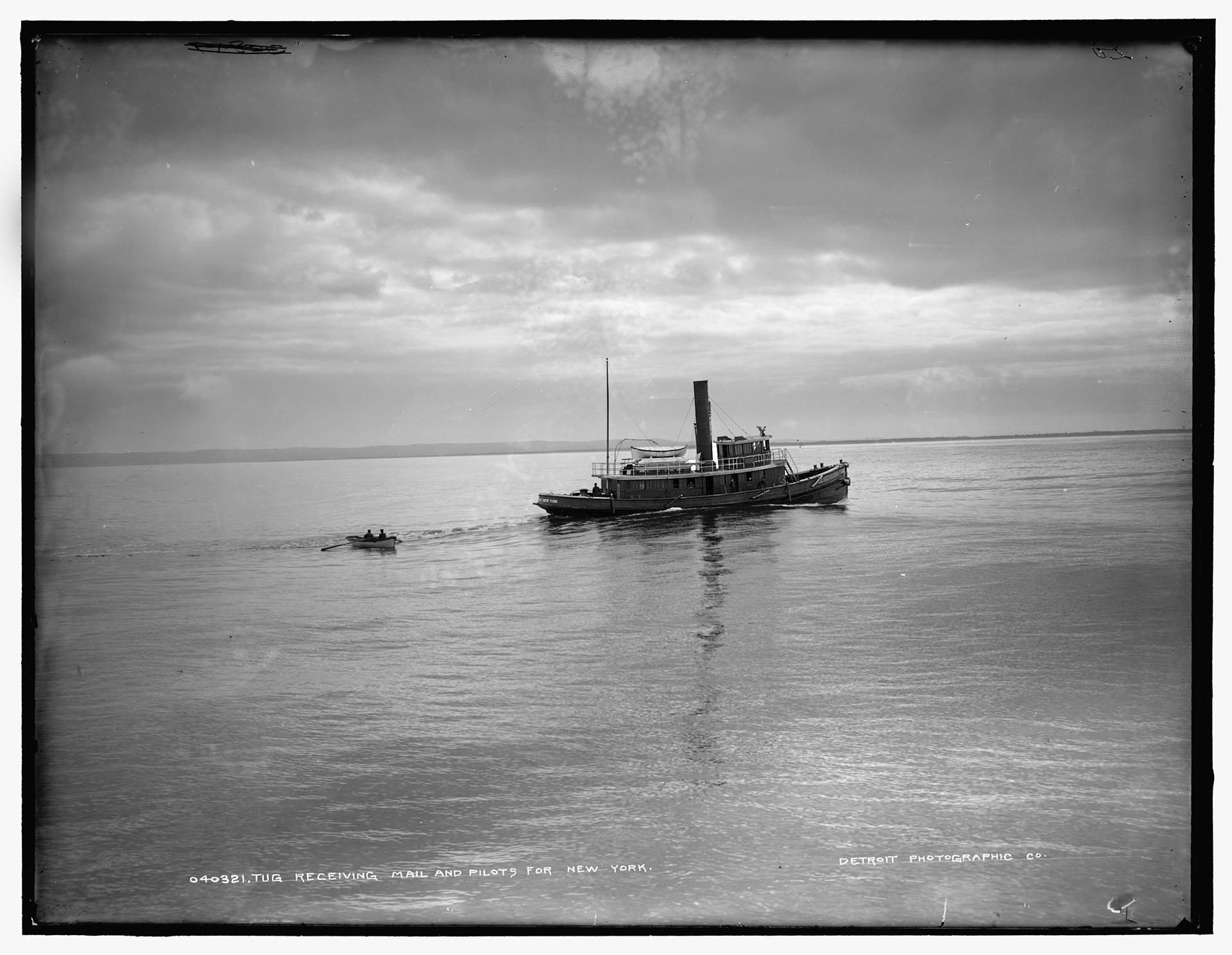 Steam tug, about 1900