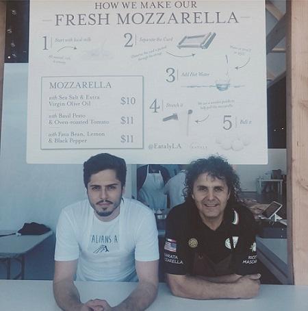 Stefano Bruno (left) and Mimmo Bruno (right)