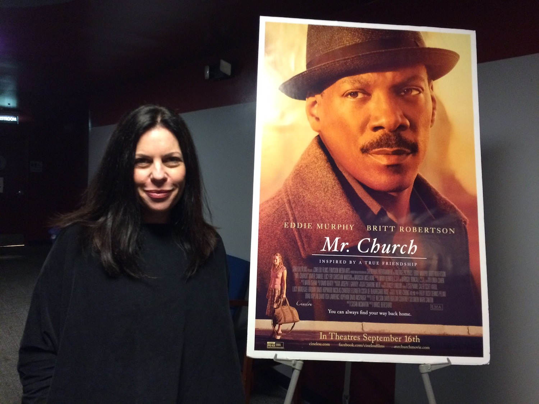 """Mr. Church"" screenwriter Susan McMartin"