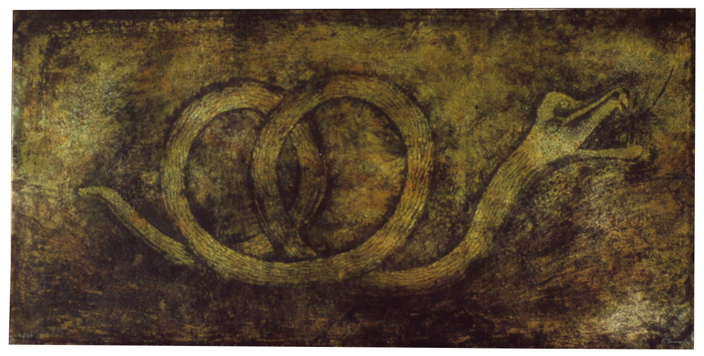 "Rufino Tamayo, ""Quetzalcoatl (Snake God),"" 1978"