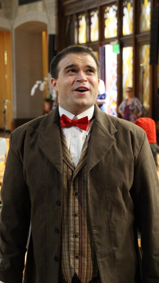 "Tenor Ryan Glover as Raphael in ""Vireo"""