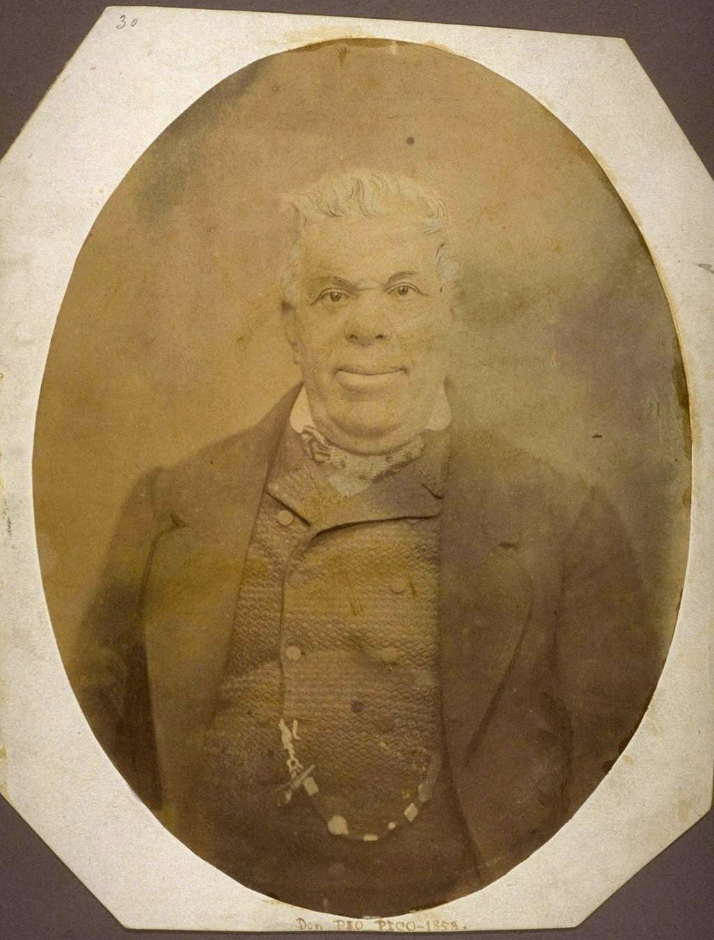 Pio Pico in 1858