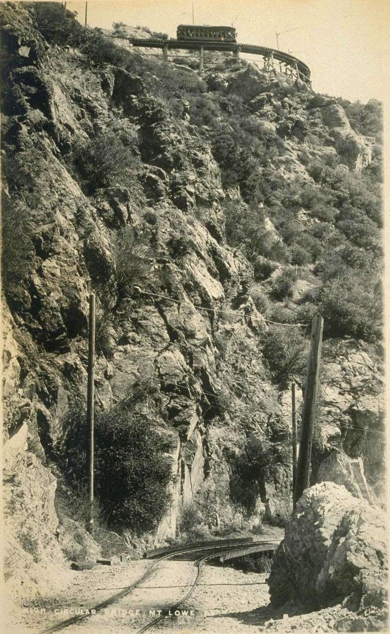 View of Circular Bridge from below, circa 1910