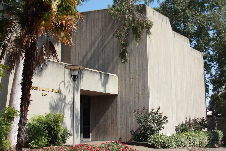 Thatcher Music Building in Pomona College