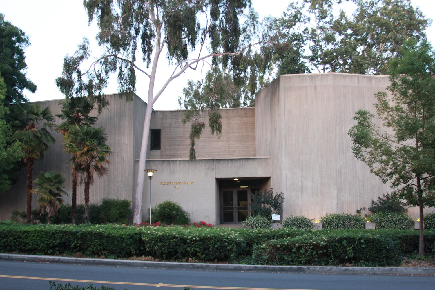 Thatcher Music Building in Pomona College